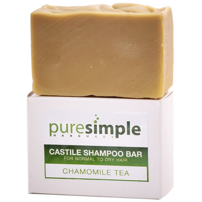 Pure Simple Shampoo Bar Chamomile Tea