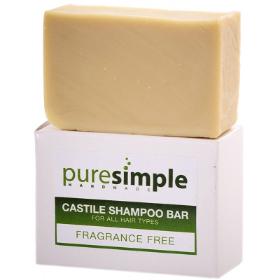 Pure Simple Shampoo Bar Fragrance Free