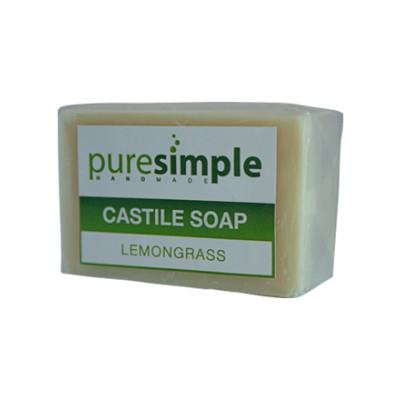 Pure Simple Lemongrass Castile Soap