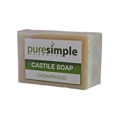 Pure Simple Cedarwood Castile Soap