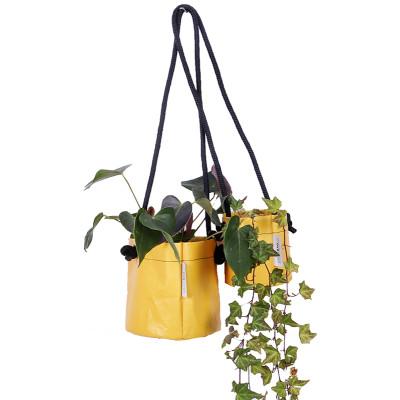 Growbag Hanging Yellow Planter