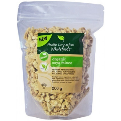 Health Connection Organic GMO-Free Soya Mince
