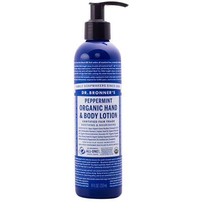 Dr. Bronner's Peppermint Hand & Body Lotion