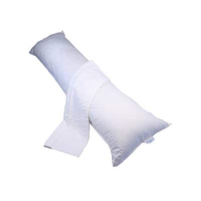 Bodypillow Medi-Line - Hollow Fibre with 100% Cotton Pillowcase, White