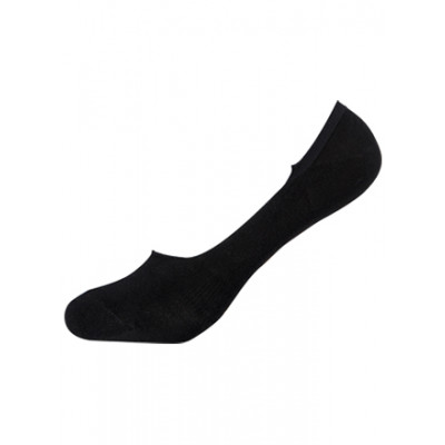 Boody Bamboo Ecowear Men's Hidden Socks - Black