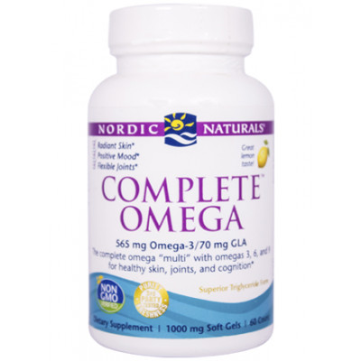 Nordic Naturals Complete Omega 60's