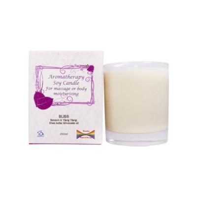 Rainbow Bath Soy Massage Candle - Bliss