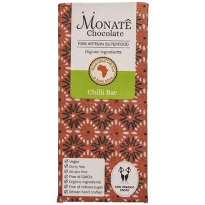 Monate Chocolate Chilli Bar, 54g