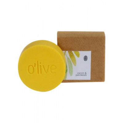 O'live Carrot & Patchouli Soap
