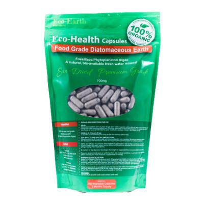 Eco-Earth Food Grade Diatomaceous Earth Capsules