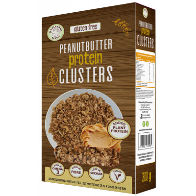 Wholesome Earth Peanut Butter Protein Clusters