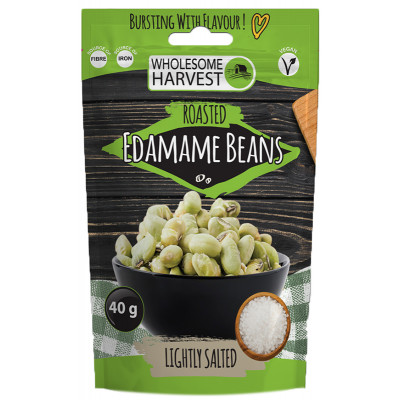 Wholesome Harvest Edamame Beans - Lightly Salted