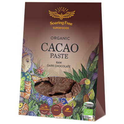 Soaring Free Superfoods Raw Organic Cacao Paste