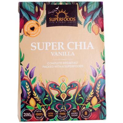 Soaring Free Superfoods Super Chia - Vanilla
