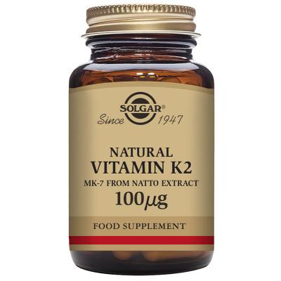 Solgar Natural Vitamin K2 (MK-7) 100µg