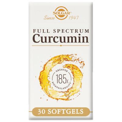 Solgar Full Spectrum Curcumin 185x