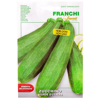 Franchi Sementi Verde di Italia Marrow/Zucchini