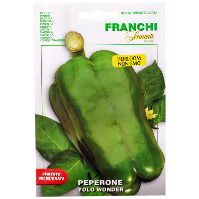 Franchi Sementi Yolo Wonder Sweet Pepper