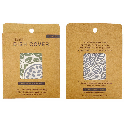 Spaza Mini Dish Covers - Grey/Green