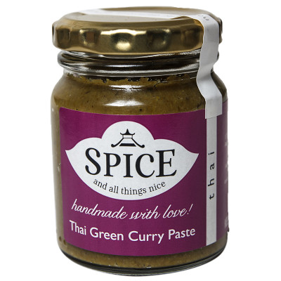 Spice and All Things Nice Thai Green Curry Paste