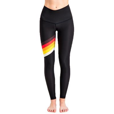 Spiritgirl Yoga Pants Rolling Retro