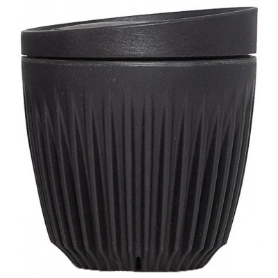 The Huskee Cup with Lid - Charcoal