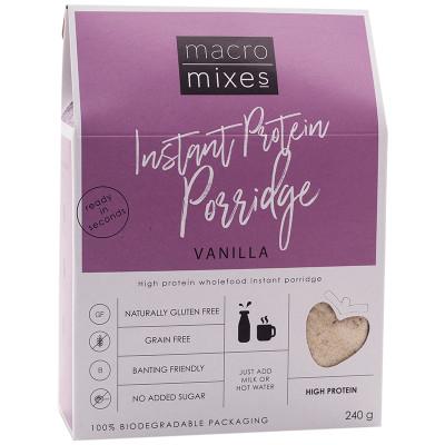 Macro Mixes Vanilla Protein Porridge