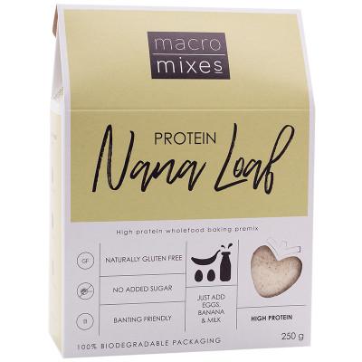 Macro Mixes Protein Nana Loaf