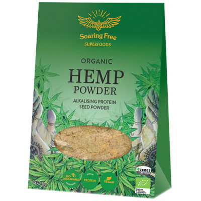 Soaring Free Superfoods Organic Hemp Seed Protein Powder