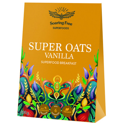 Soaring Free Superfoods Super Oats - Vanilla