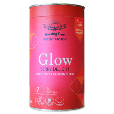 Soaring Free Glow Superfood Protein Shake - Berry Delight