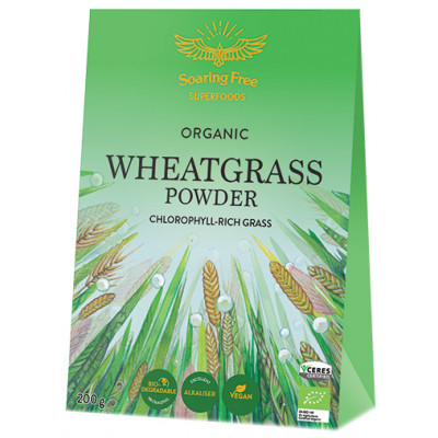 Soaring Free Superfoods Wheatgrass Powder