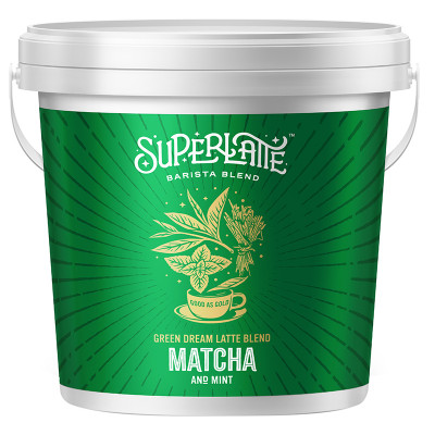 Superlatte Green Dream Latte Blend - Matcha & Mint 750g