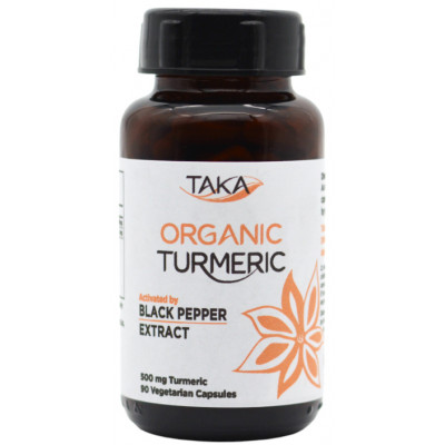 Taka Turmeric & BioPerine Capsules