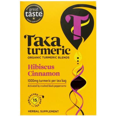 Taka Turmeric Golden Hibiscus Tea Bags