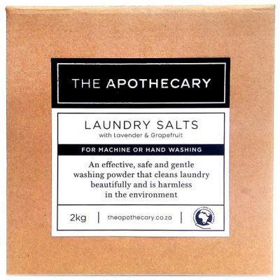 The Apothecary Laundry Salts with Lavender & Grapefruit