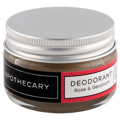 The Apothecary Rose & Geranium Deodorant