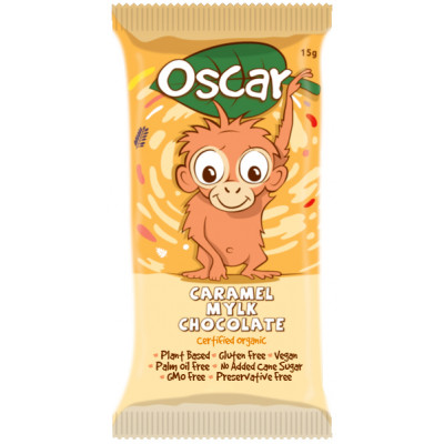 The Chocolate Yogi Oscar Caramel Chocolate