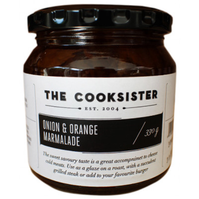 The Cooksister Onion & Orange Marmalade