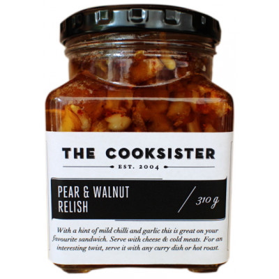 The Cooksister Pear & Walnut Relish