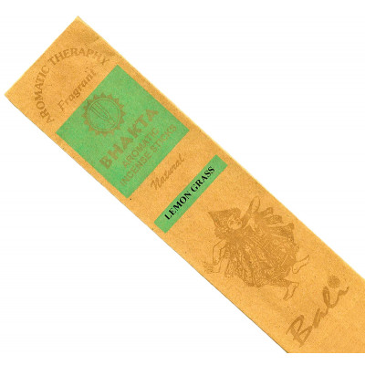 Bali Luxury Hand Rolled Incense Sticks - Lemongrass