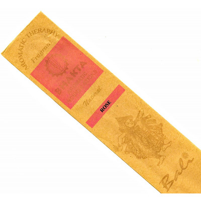 Bali Luxury Hand Rolled Incense Sticks - Rose