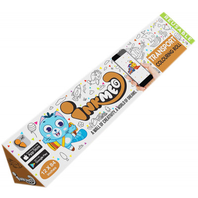 Inkmeo Modes of Transport  Reusable Colouring Roll