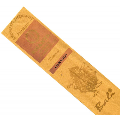Bali Luxury Hand Rolled Incense Sticks - Cinnamon