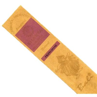 Bali Luxury Hand Rolled Incense Sticks - Fragapani