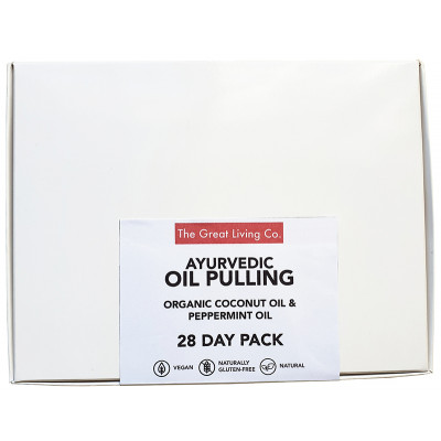 The Great Living Co Ayurvedic Oil Pulling 28 Day Pack
