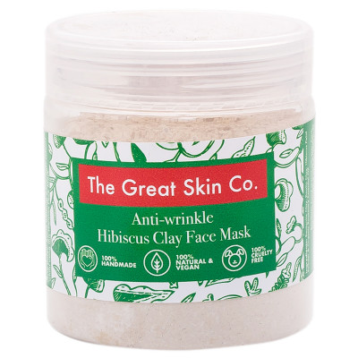 The Great Skin Co Anti-wrinkle Hibiscus Face Mask