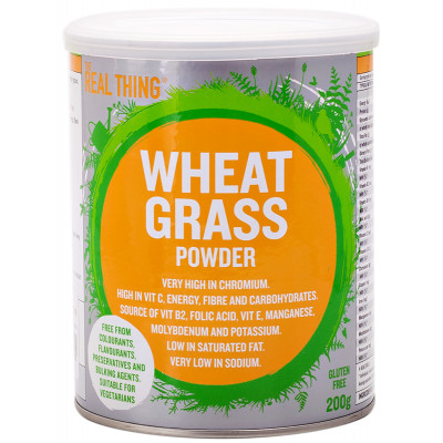 The Real Thing Wheat Grass Powder