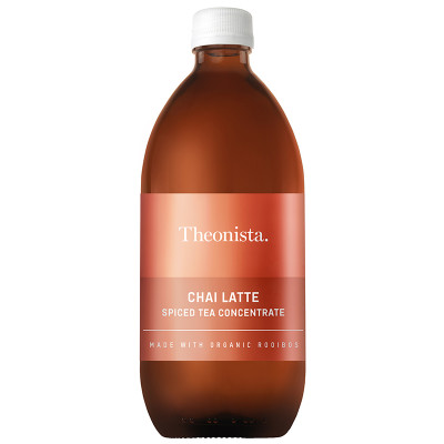 Theonista Chai Latte Spiced Tea Concentrate