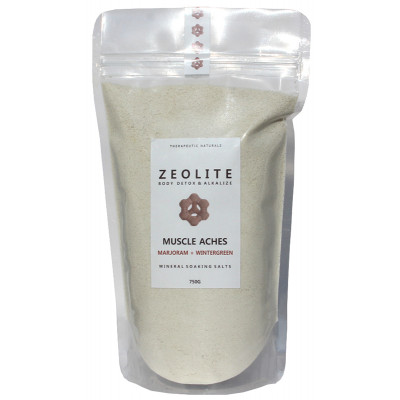 Zeolite Mineral Soaking Salts Muscle Aches